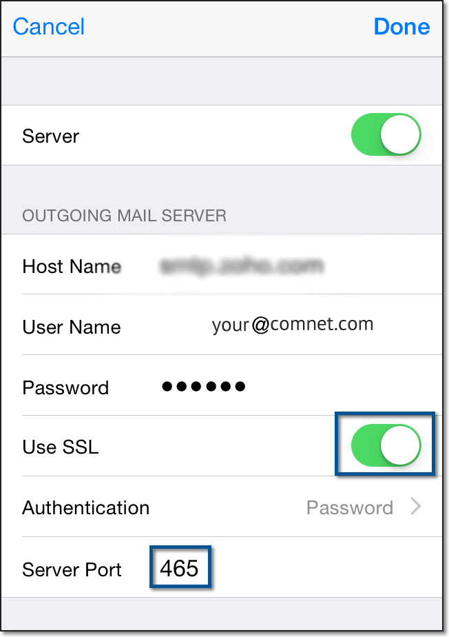 Setup ComNetcom.net Mail Server