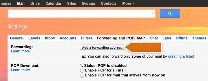 Setup ORANGE Mail Using POP