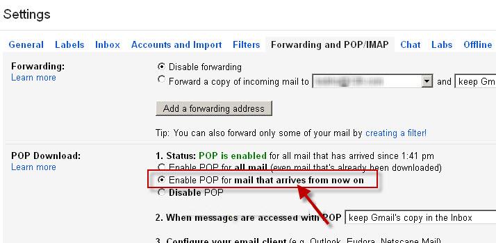 Setup Yahoo Mail Using POP